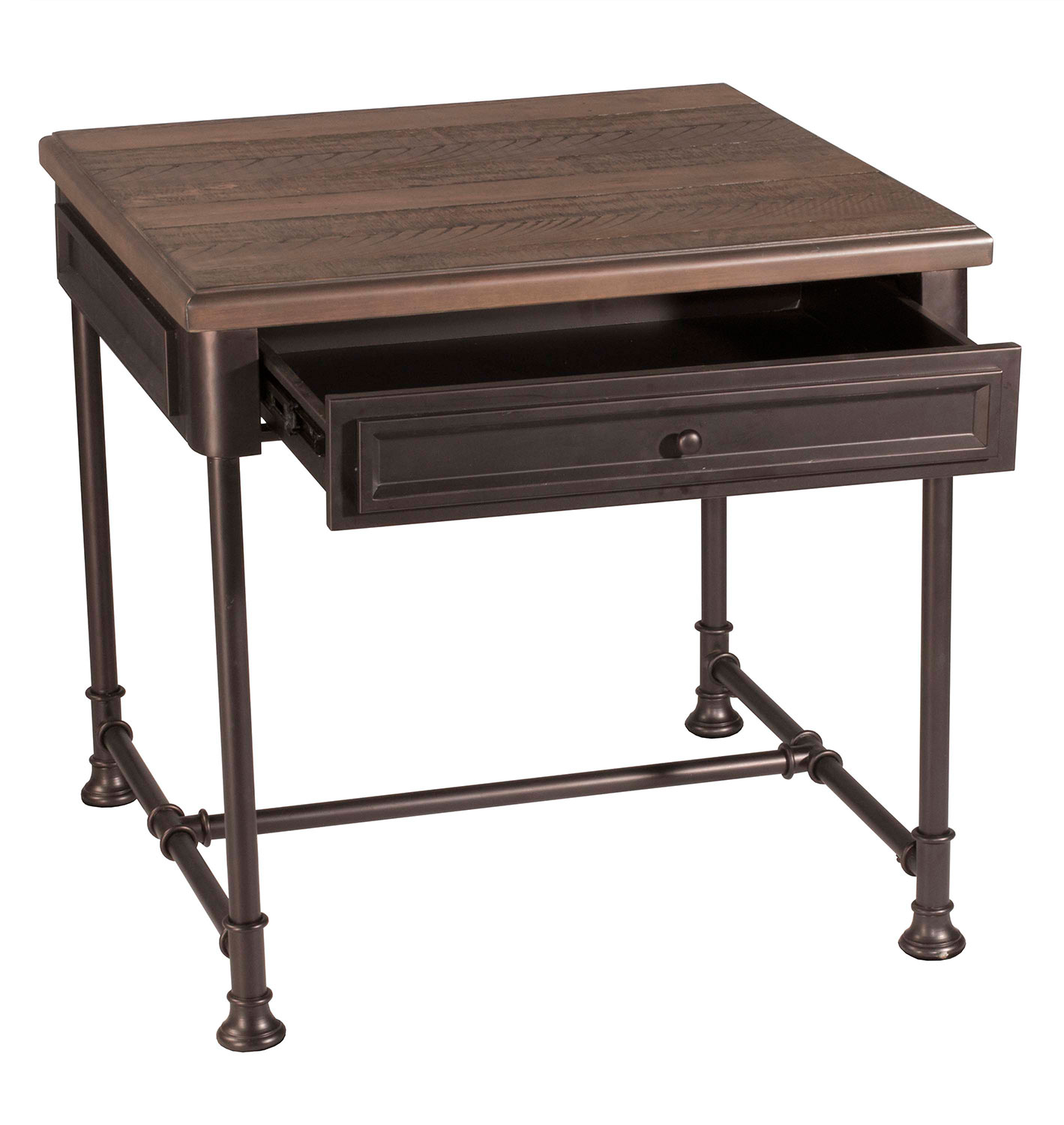 Hillsdale Casselberry End Table Walnut Brown 4582 881
