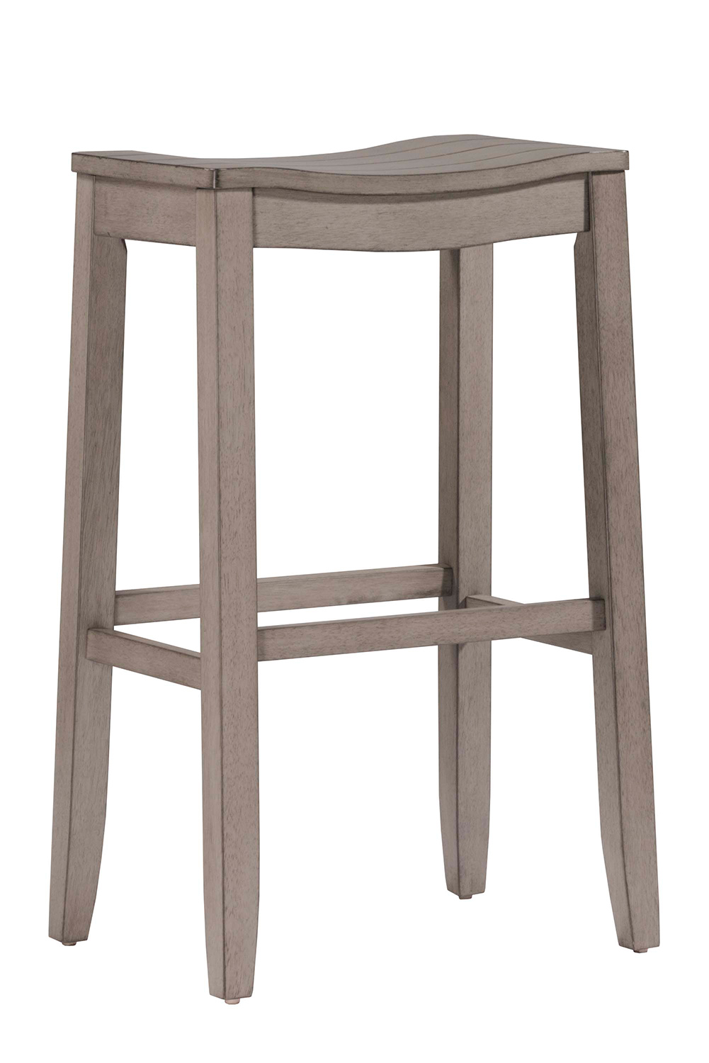 Hillsdale Fiddler Non Swivel Backless Counter Stool Aged