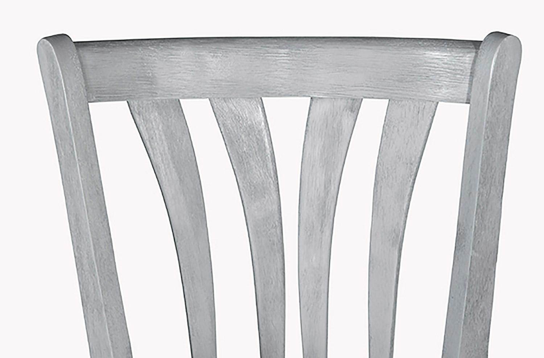 Hillsdale Savana Swivel Counter Stool - Blue Wirebrush - Cream Fabric