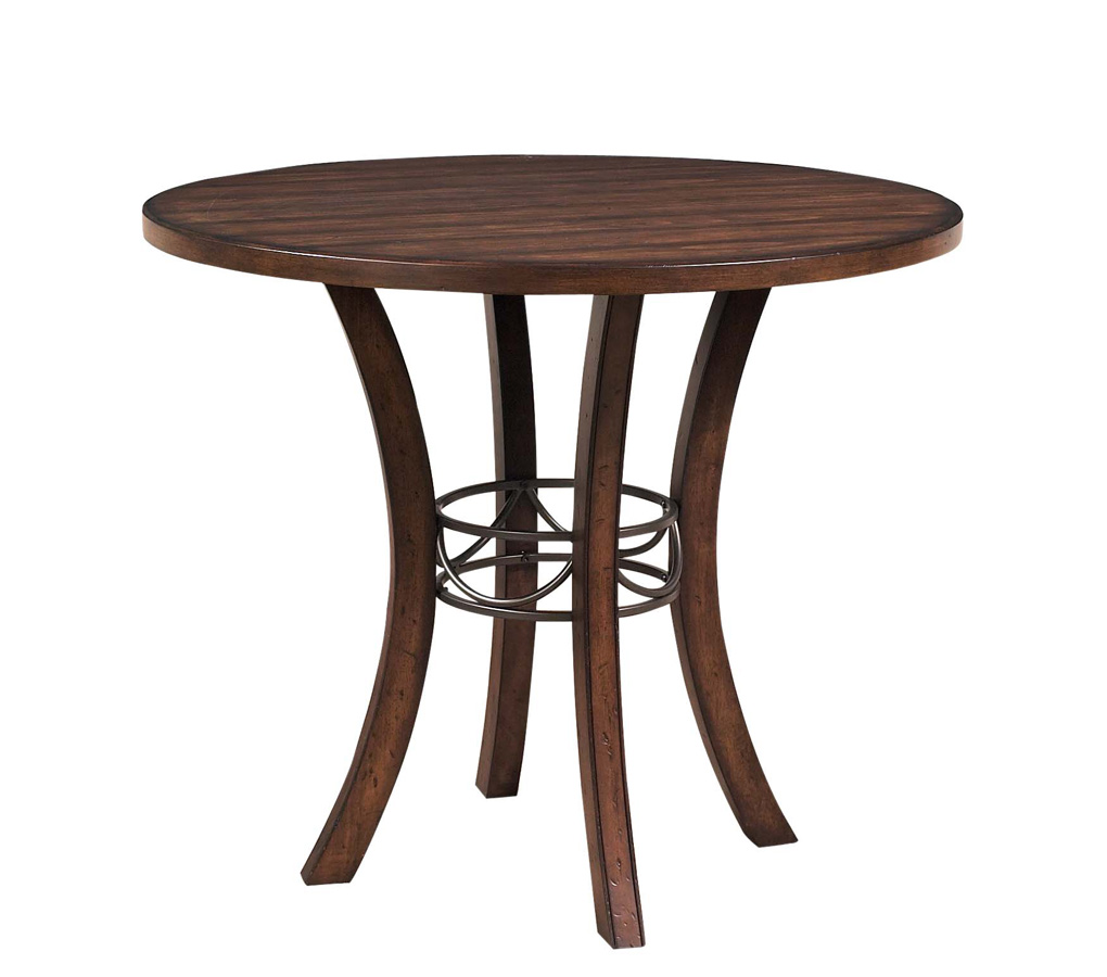 Hillsdale Cameron Counter Height Round Dining Table