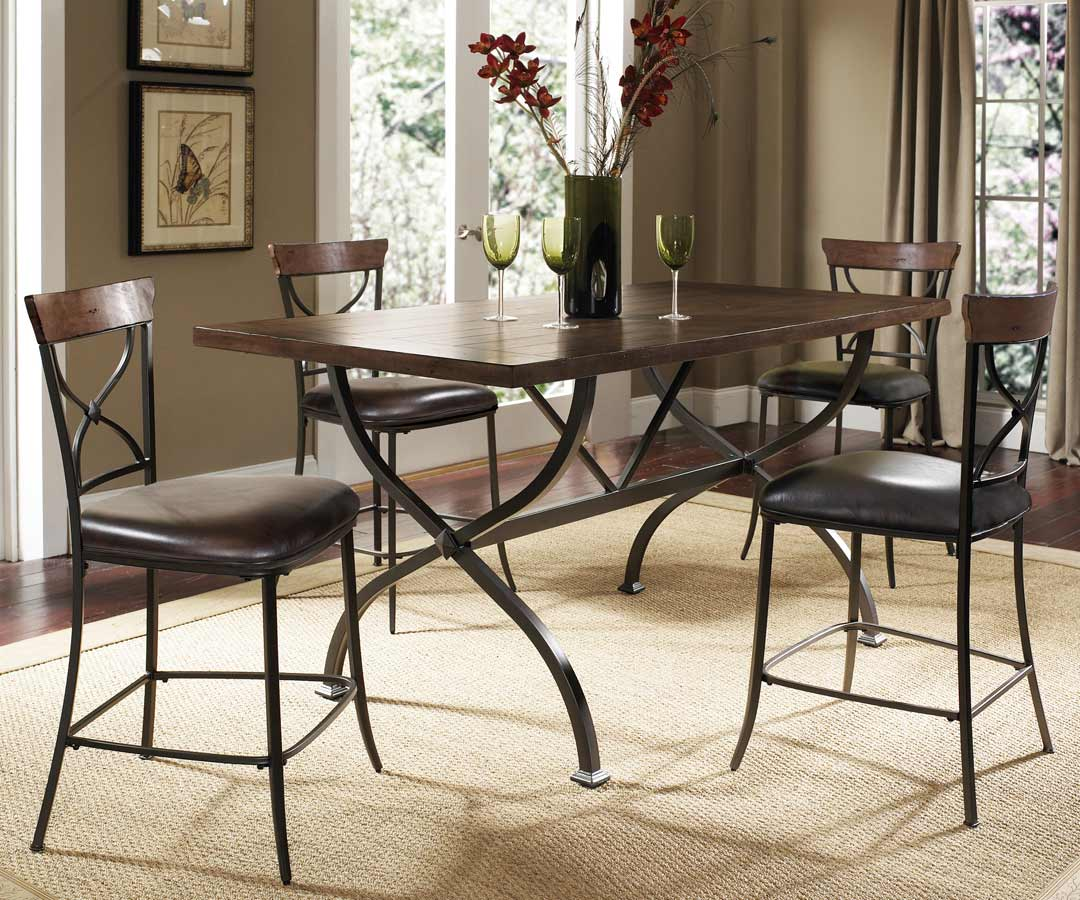 Hillsdale Cameron Rectangular Counter Height Dining Table