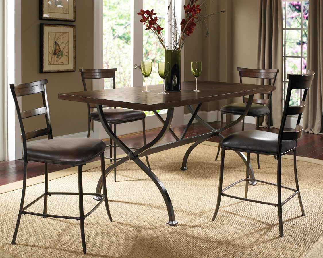 Hillsdale Cameron Rectangular Counter Height Dining Set