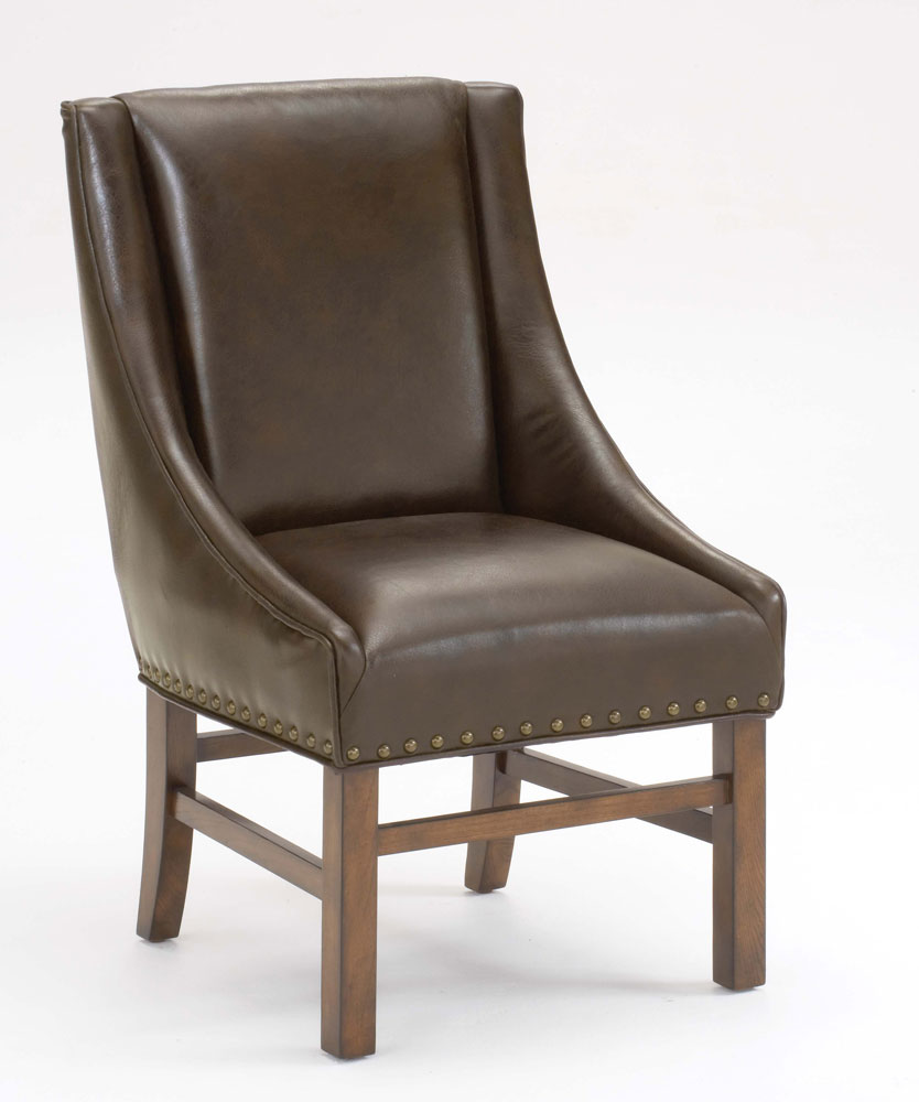 Oak Chairs With Arms ~ Hillsdale hartland dining arm chair dark oak
