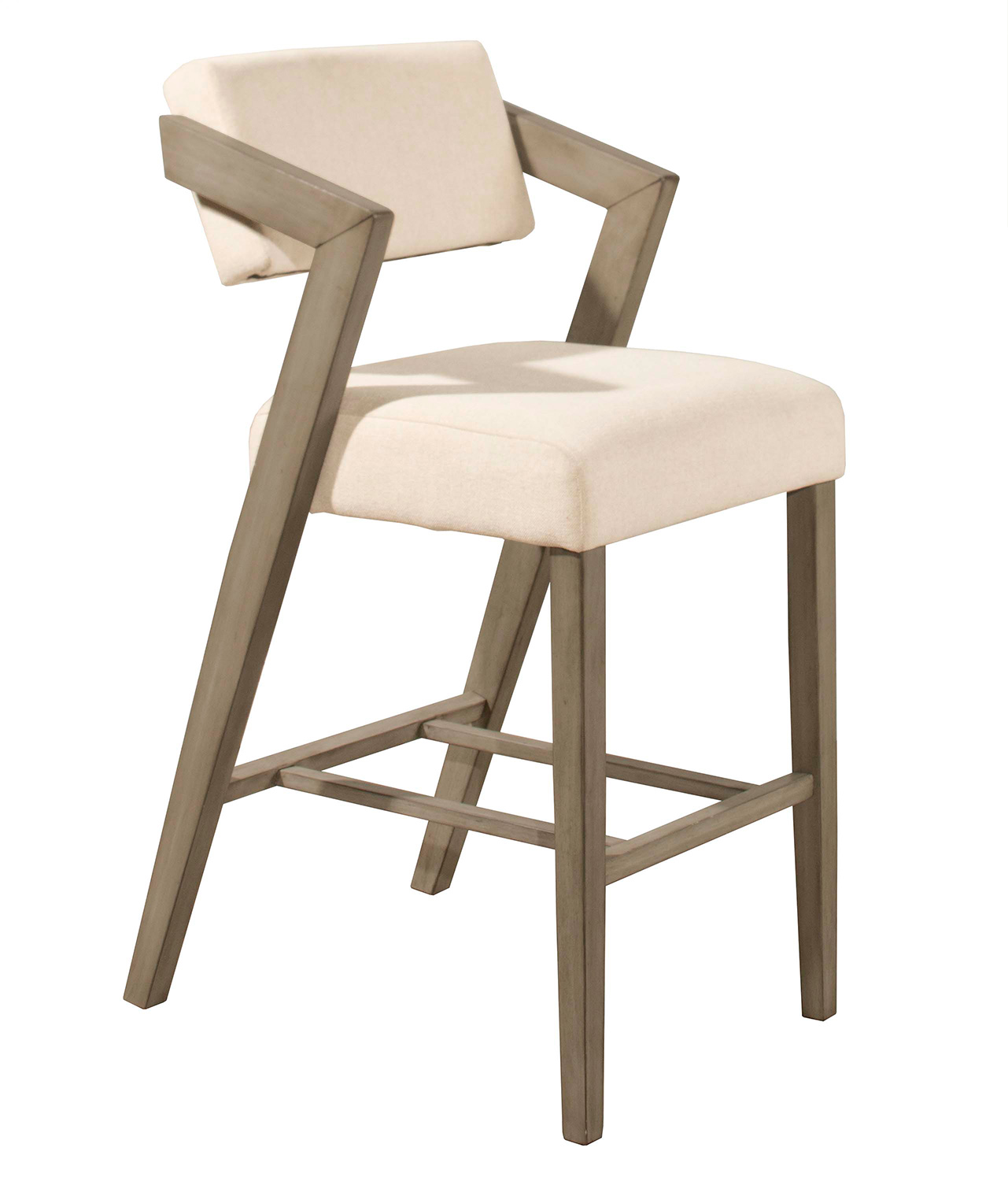 Hillsdale Snyder Non Swivel Counter Stool Aged Gray