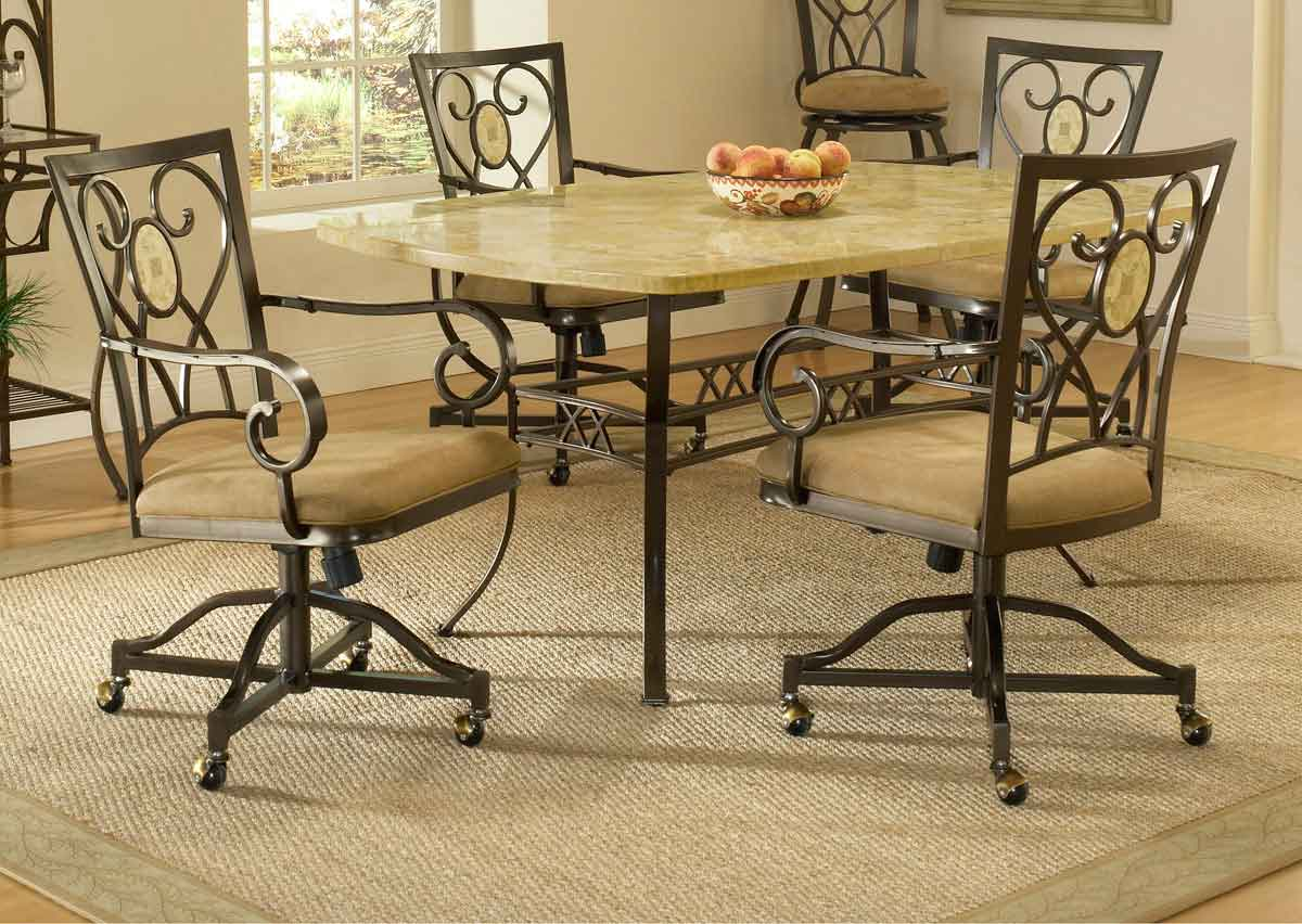caster dining room chairs