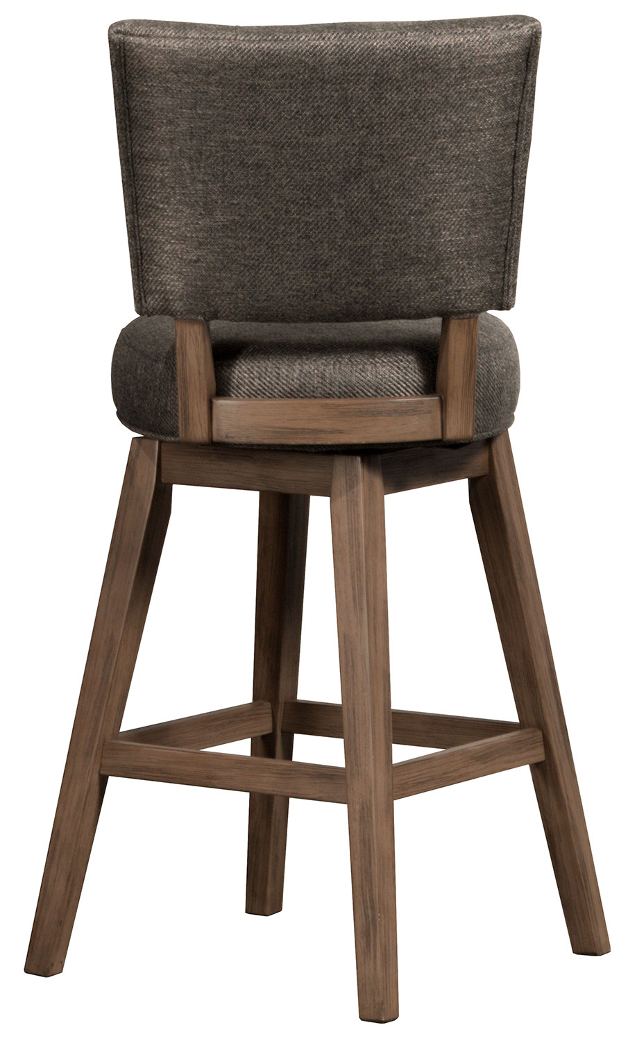 Hillsdale Lanning Swivel Counter Stool - Weathered Brown