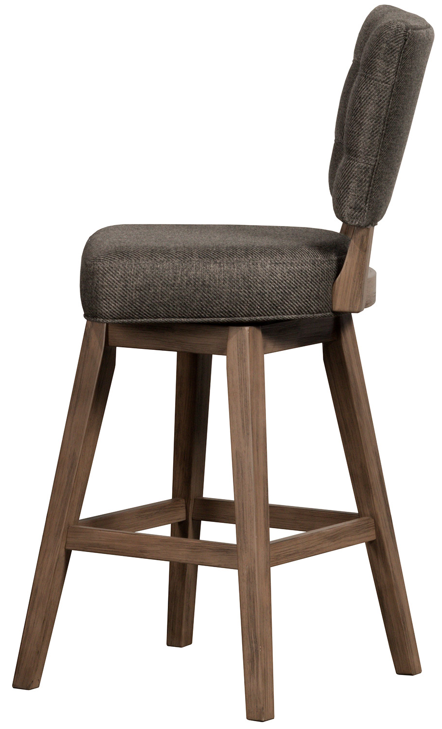Hillsdale Lanning Swivel Bar Stool - Weathered Brown