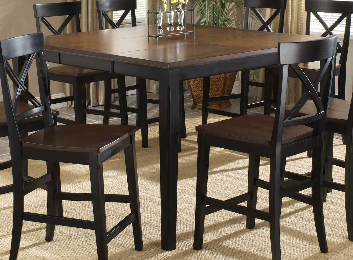 Hillsdale Englewood Rectangle Leg Extension Gathering Table
