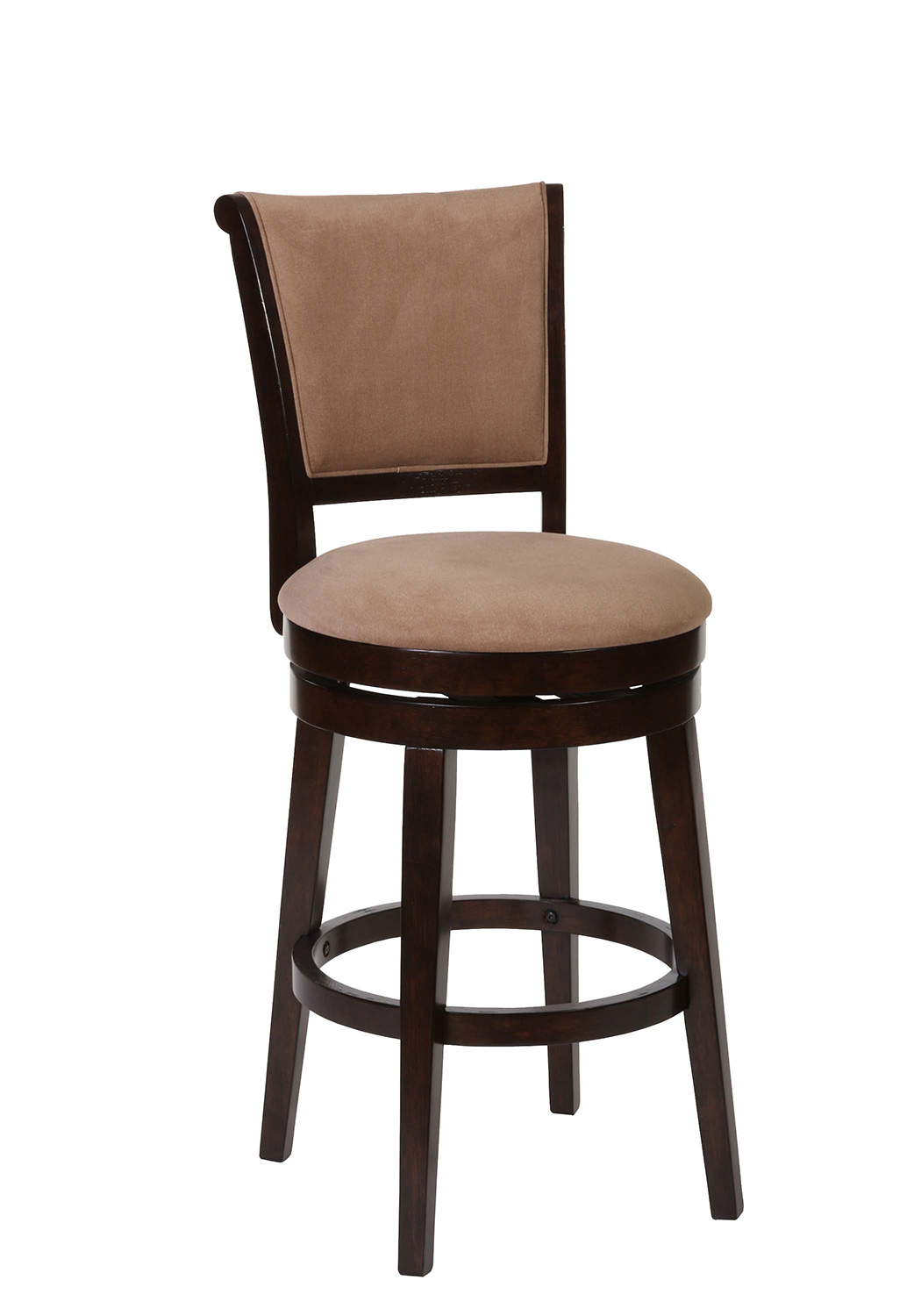 Hillsdale Armstrong Swivel Bar Stool Autumn Wood 5065