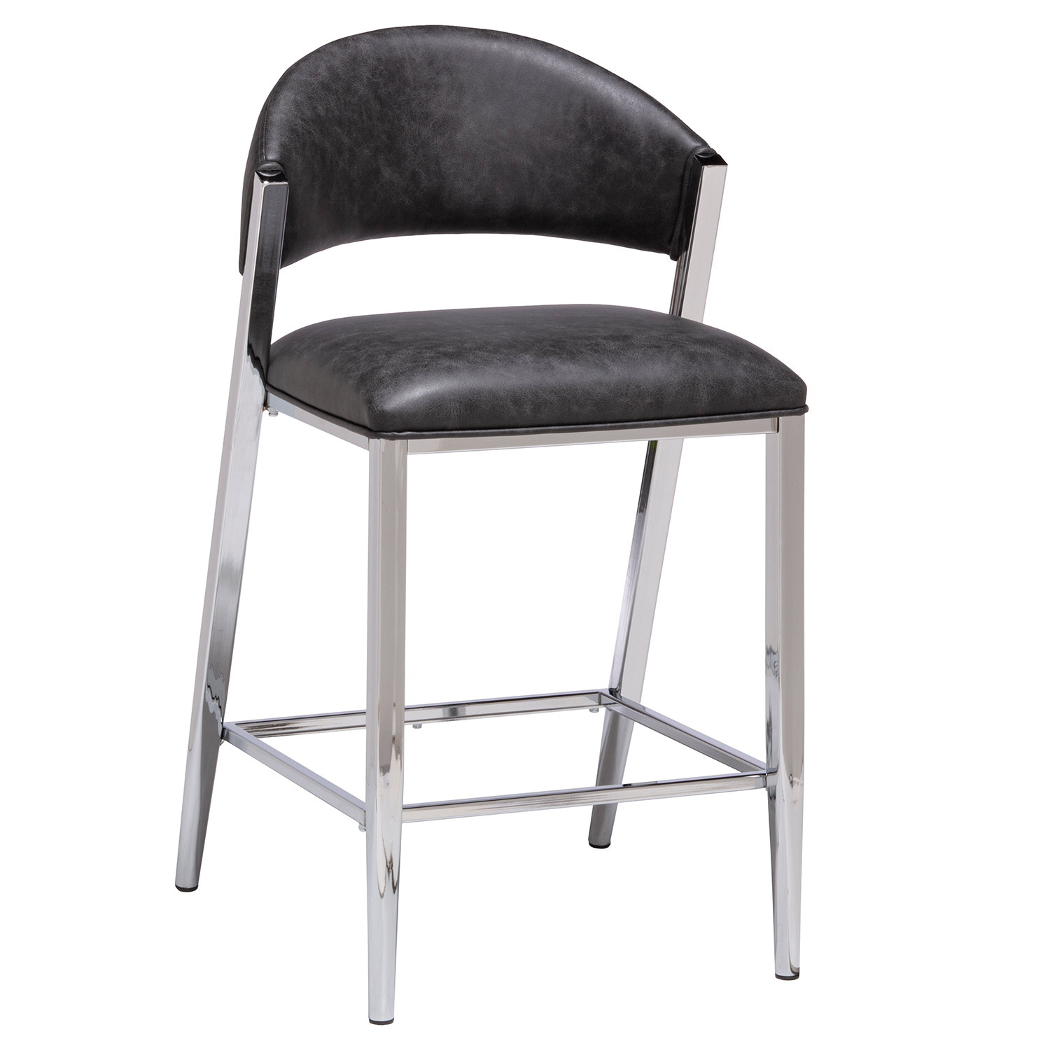 Hillsdale Molina Counter Height Stool - Chrome