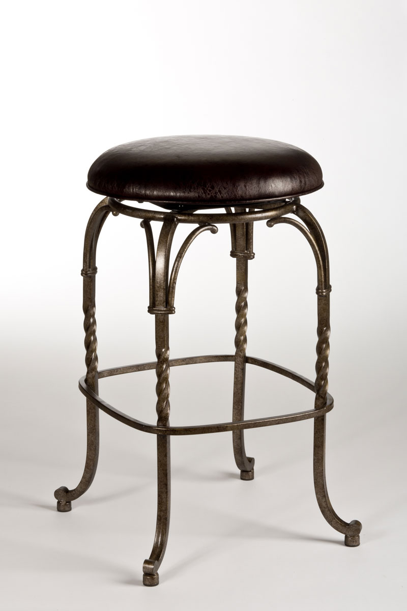 antique counter stools hillsdale keene backless swivel bar stool pewter with 1265