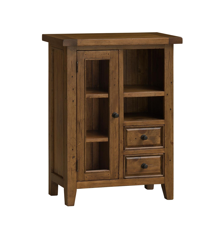 Hillsdale Tuscan Retreat Coffee Cabinet - Antique Pine - Hillsdale Tuscan Retreat Coffee Cabinet - Antique Pine 5225-858W