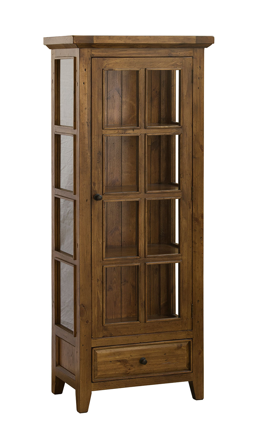 Hillsdale Tuscan Retreat Small Display Cabinet Antique