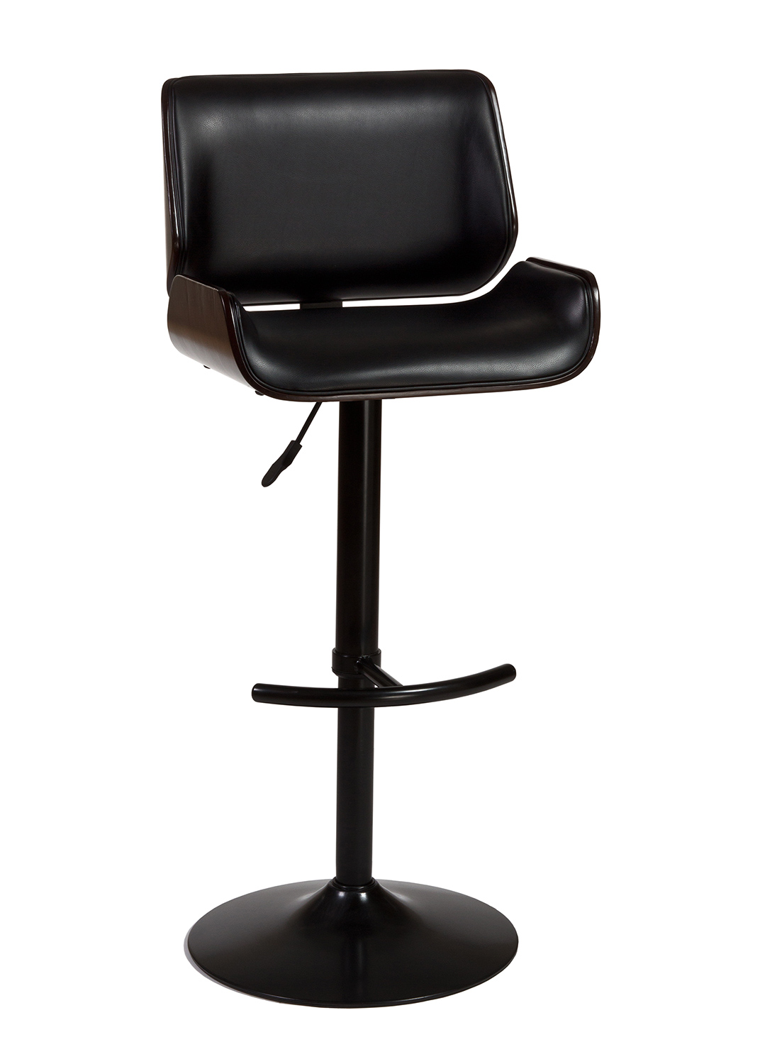 Hillsdale Radcliff Adjustable Bar Stool Black Metal