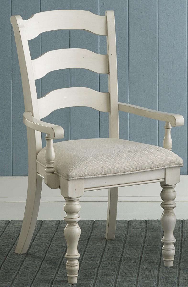 Pine Island Ladder Back Arm Chair