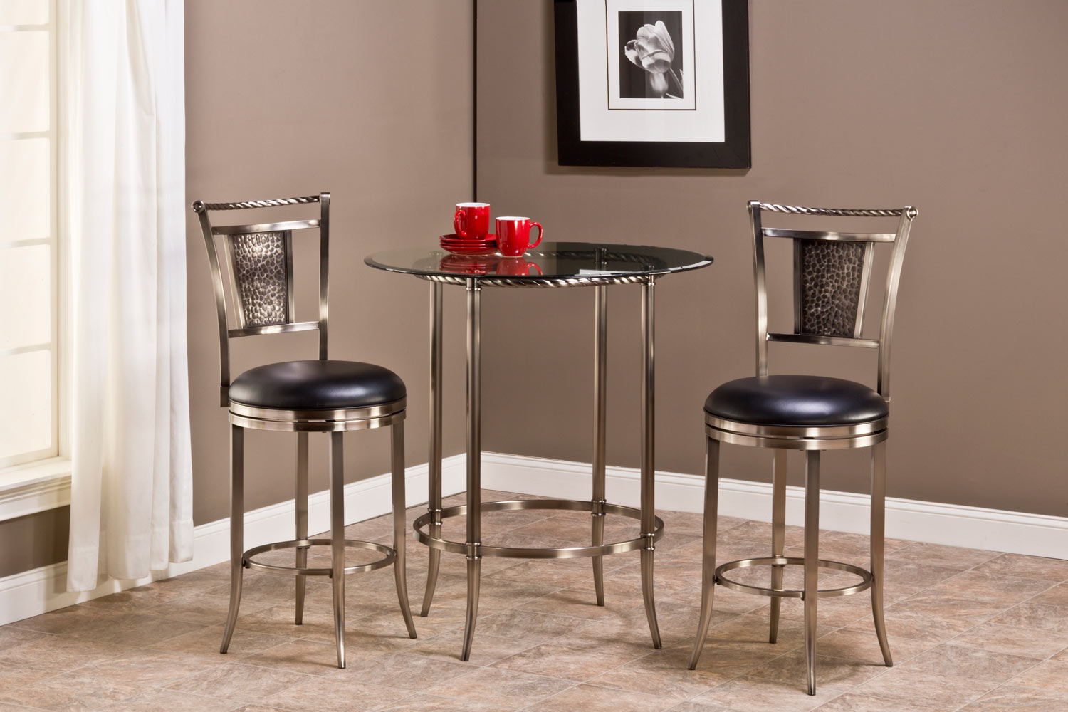 3 Piece Bar Table Set - Home Design Ideas and Pictures