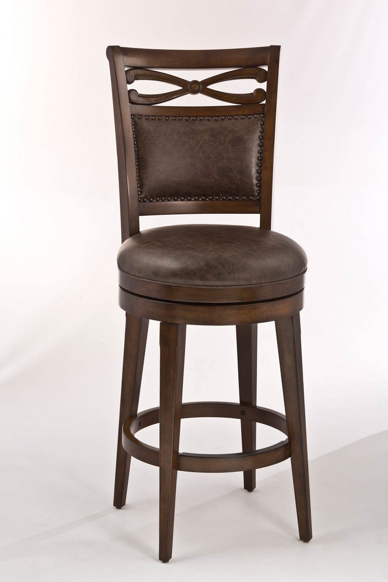 Hillsdale Seaton Springs Counter Stool Weathered Walnut