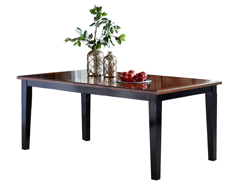 Hillsdale Avalon Extension Table   Black/Cherry