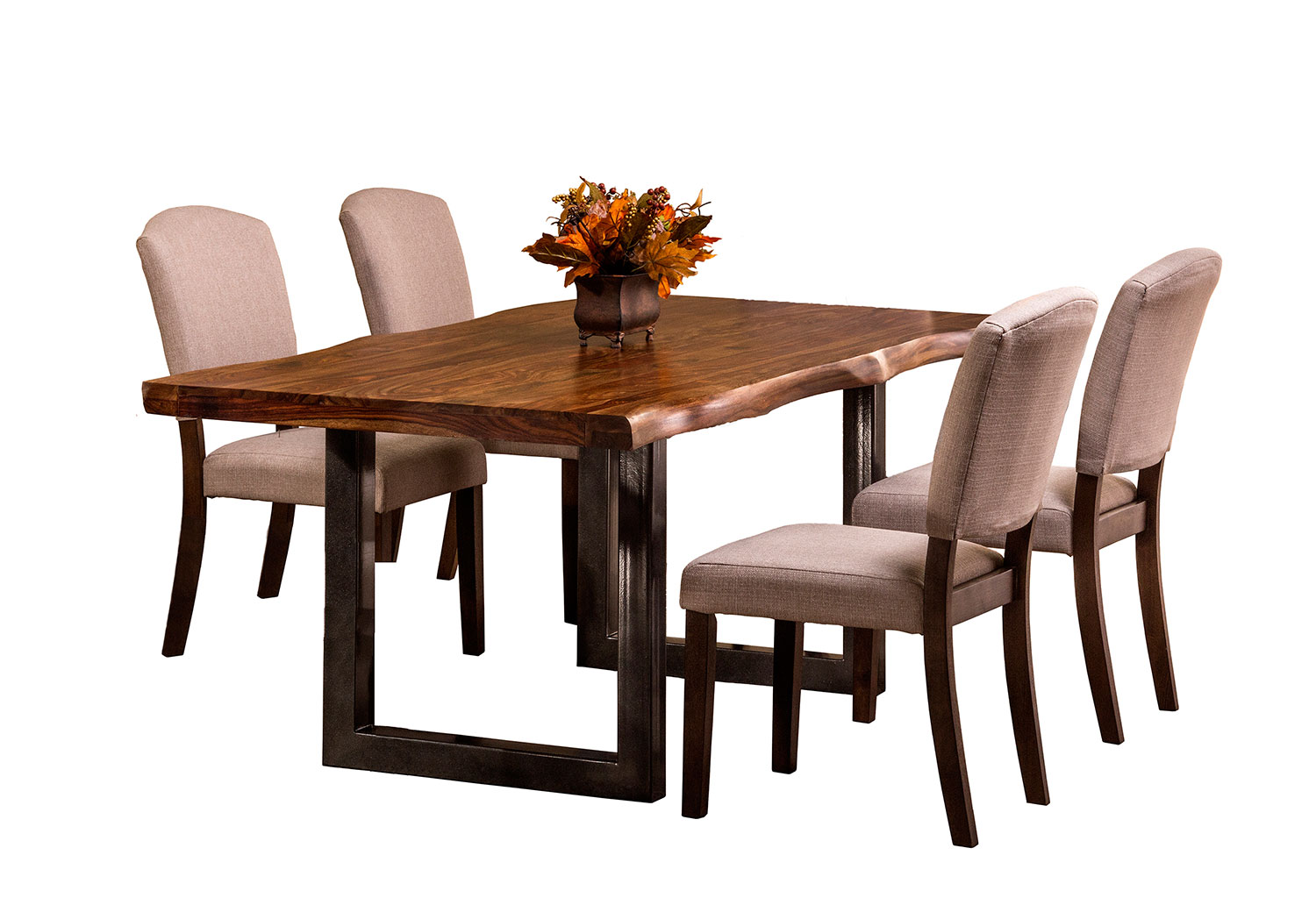 Hillsdale Emerson 5 Piece Rectangle Dining Set Natural