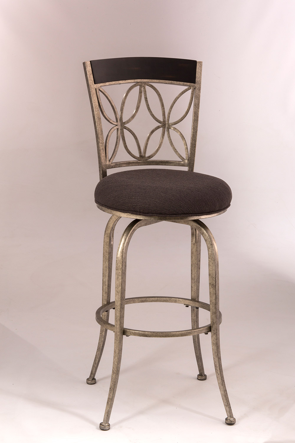 Hillsdale Goodwin Swivel Bar Stool PewterEspresso Wood  : HD 5693 830 from www.hillsdalefurnituremart.com size 1000 x 1500 jpeg 195kB