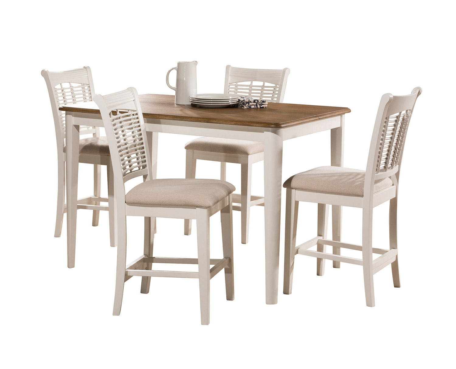 Hillsdale Bayberry 5 Piece Counter Height Dining Set