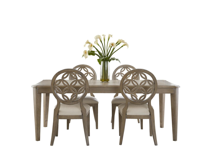 Hillsdale Savona 5-Piece Dining Set - Vintage Gray