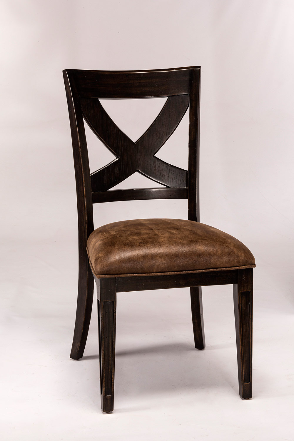Hillsdale Santa Fe Dining Chair   Distressed Espresso