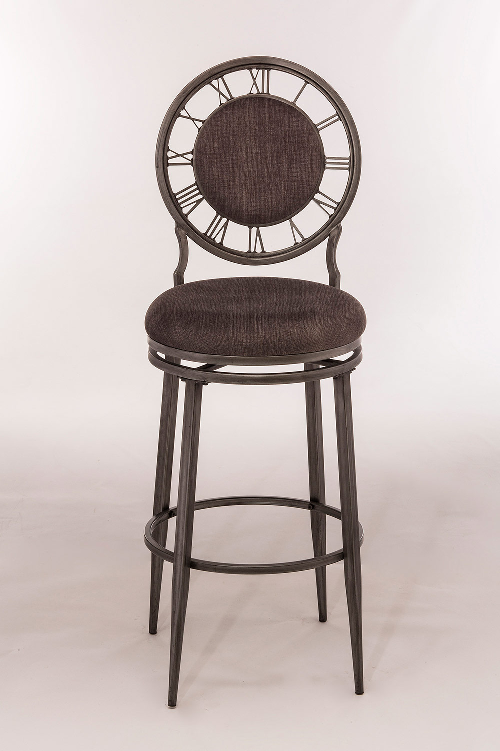 Hillsdale Big Ben Swivel Bar Stool - Pewter