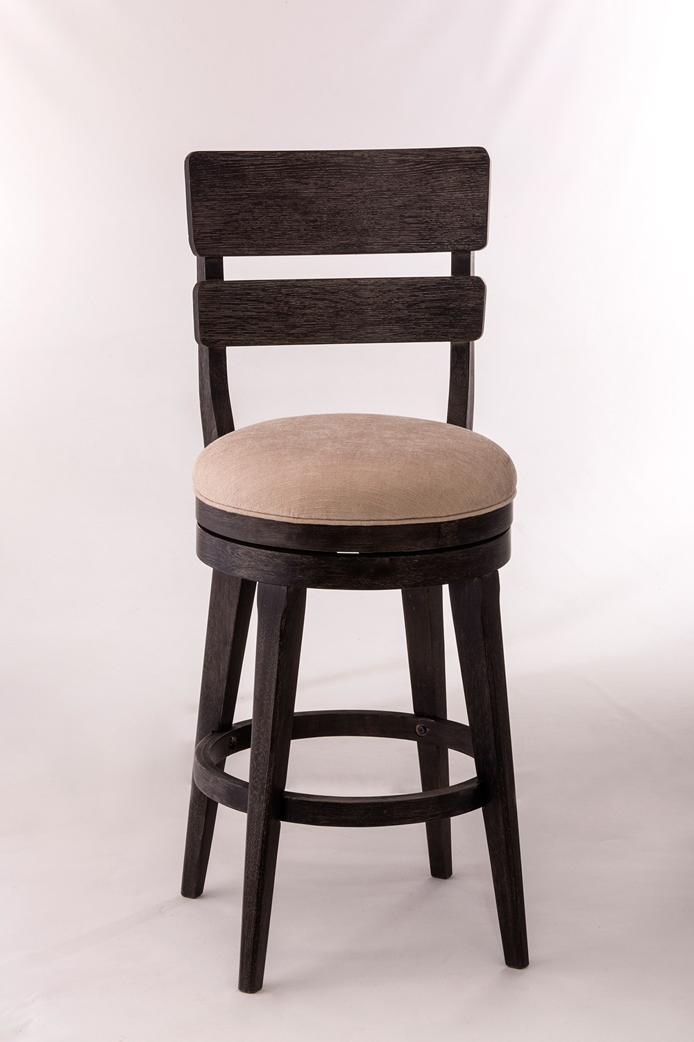 Hillsdale LeClair Swivel Counter Stool - Black