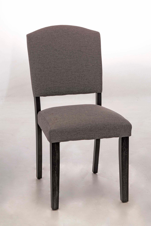 Hillsdale Emerson Parson Dining Chair - Gray Sheesham