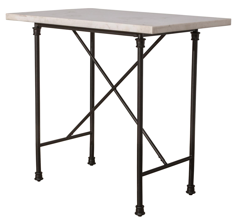 Hillsdale Castille 3-Piece Counter Height Set - Black/White