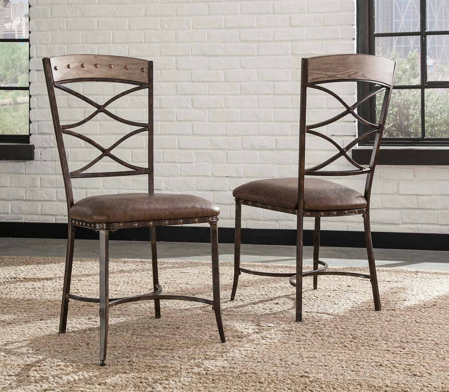 Hillsdale Emmons Dining Chair - Washed Gray