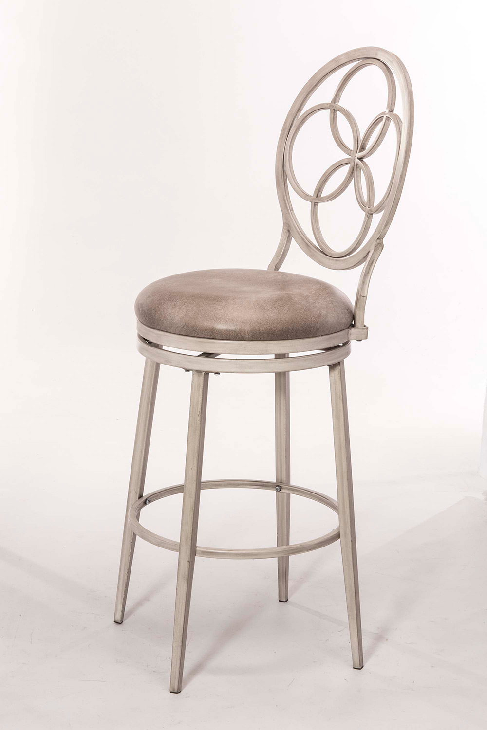 Hillsdale Donnelly Swivel Counter Stool - Weathered Gray