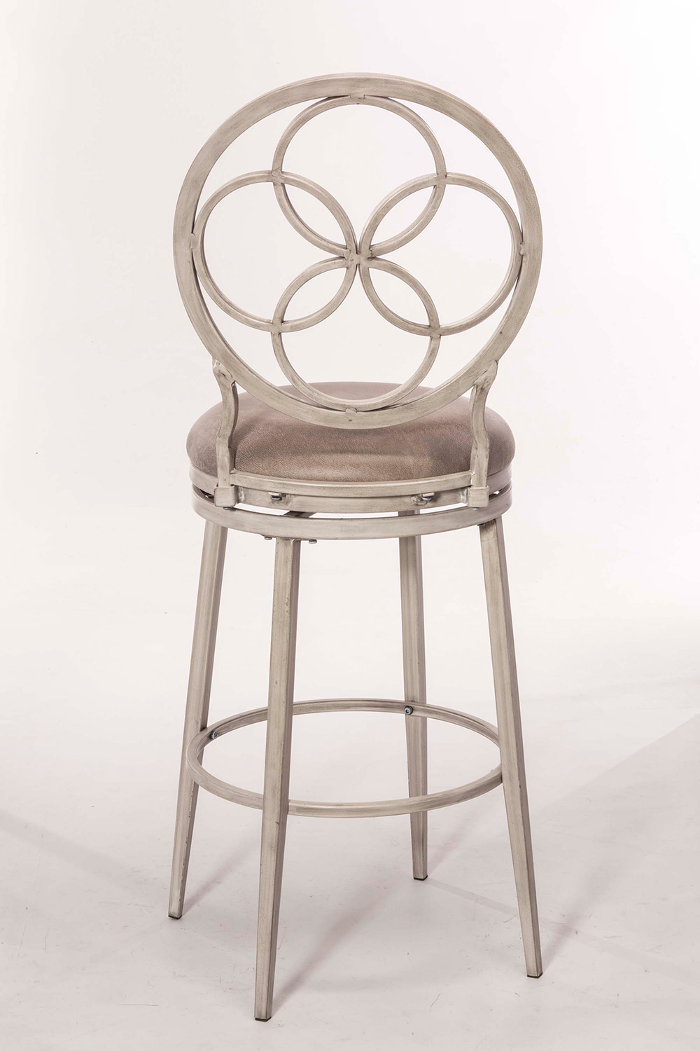 Hillsdale Donnelly Swivel Bar Stool - Weathered Gray