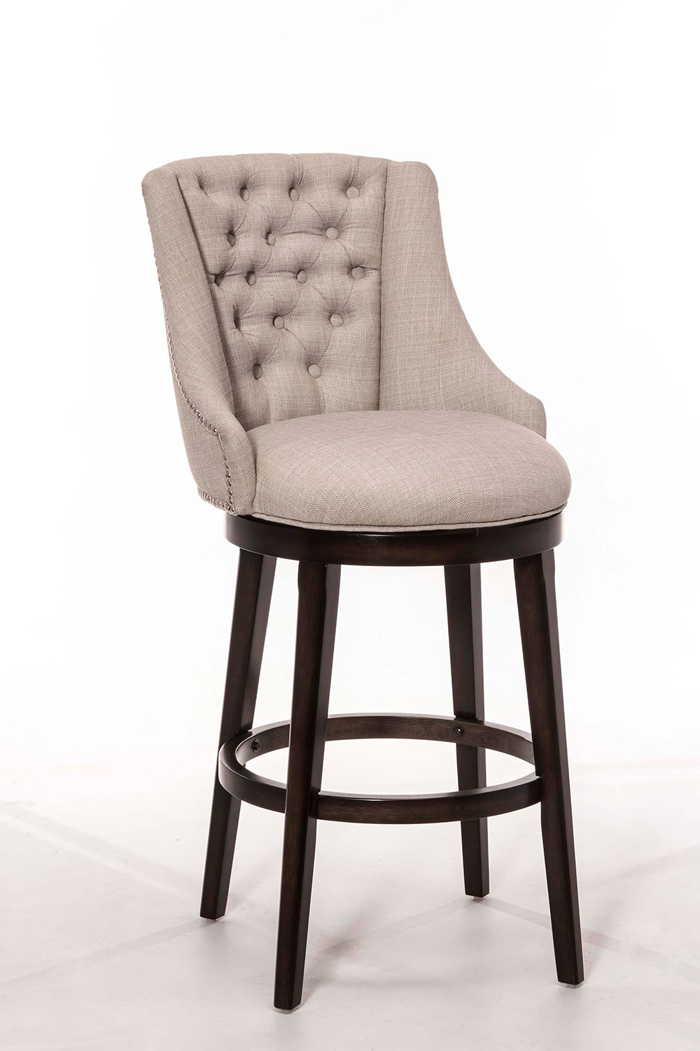 Hillsdale Halbrooke Swivel Bar Stool - Chocolate