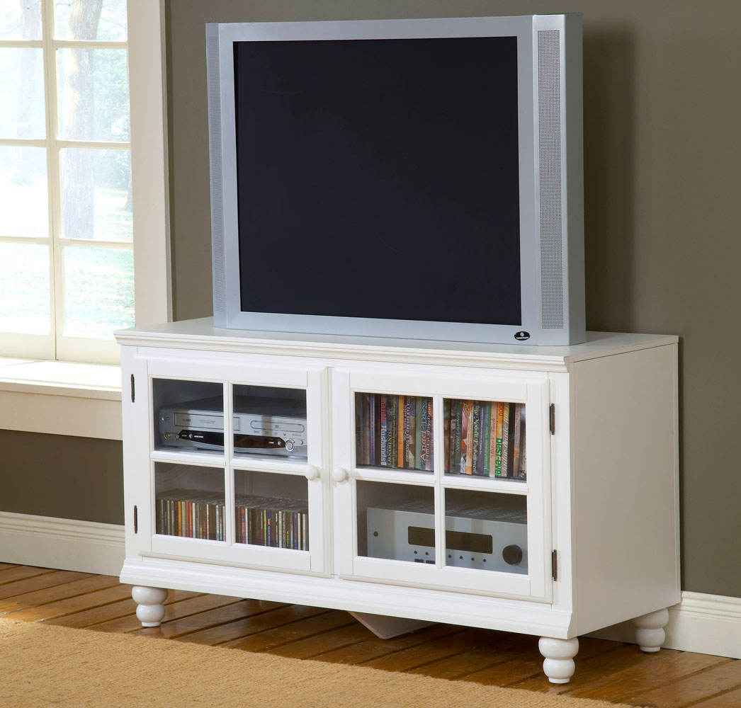 Hillsdale Grand Bay 48in Entertainment Console - White