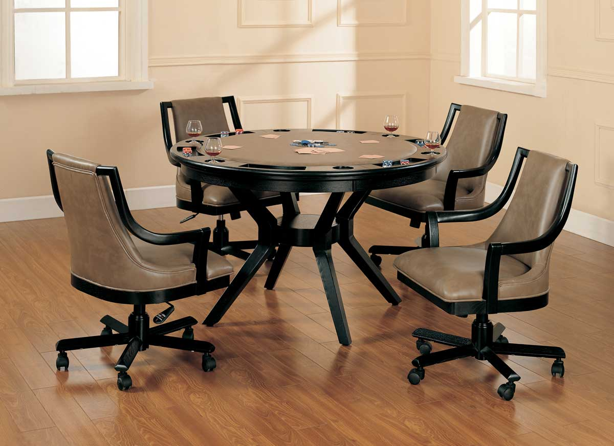 Hillsdale Madrid Game Table Dining Collection 6169GTBC