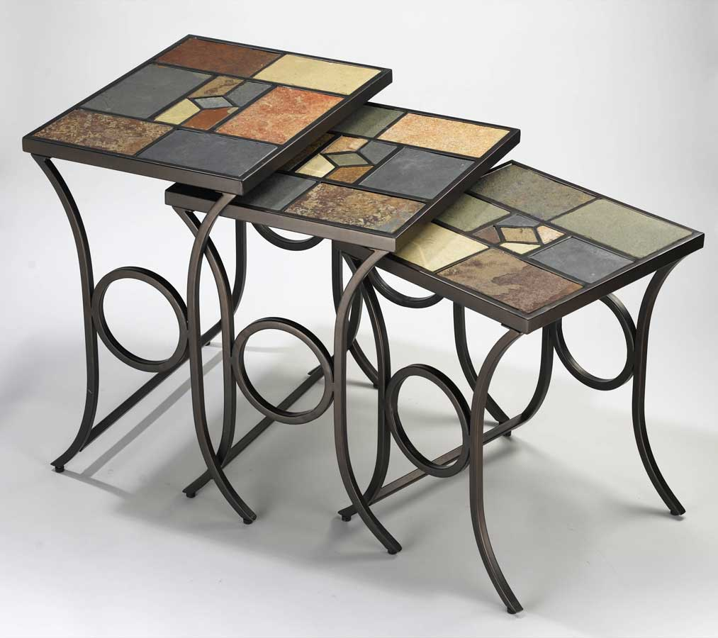Hillsdale Pompei Nesting Tables   Set Of 3