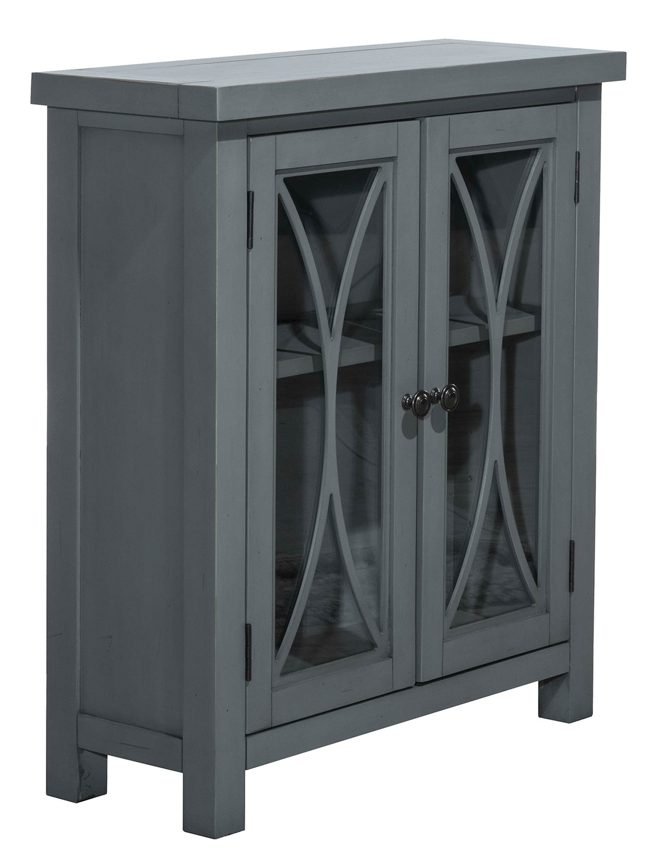 Hillsdale Bayside 2-Door Cabinet - Robin Blue