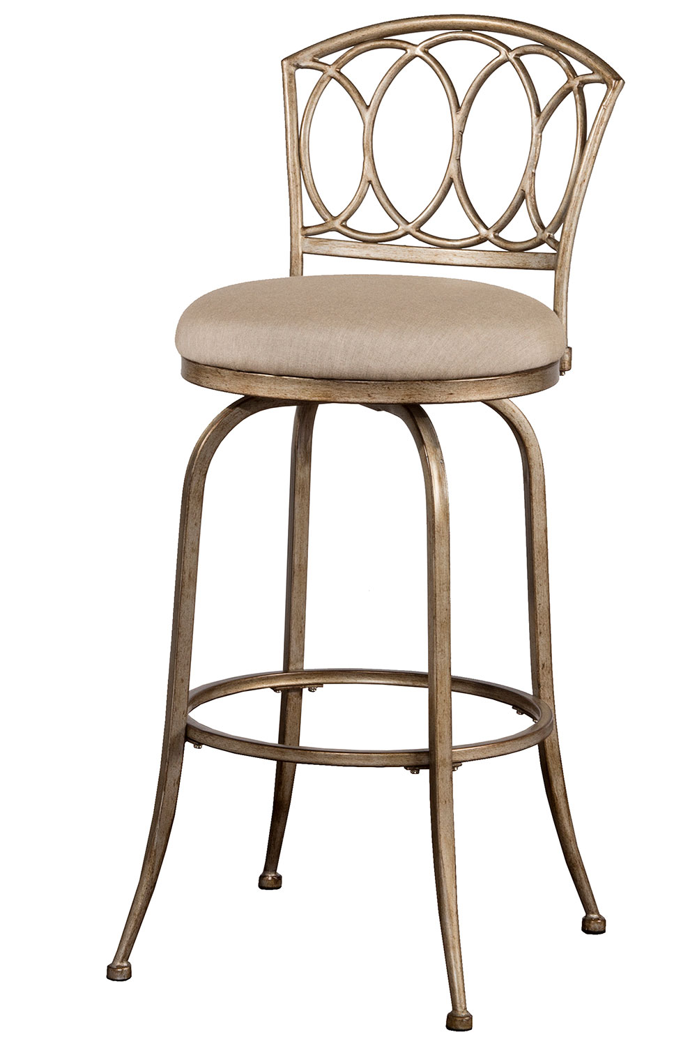 Hillsdale Corrina Indoor Outdoor Swivel Bar Stool