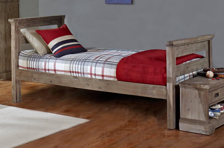 NE Kids Oxford Oliver Twin Bed - Cocoa