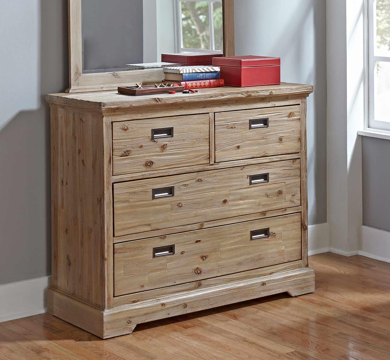 NE Kids Oxford 4 Drawer Dresser - Cocoa