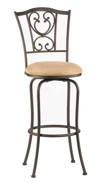 Hillsdale Concord Swivel Counter Stool