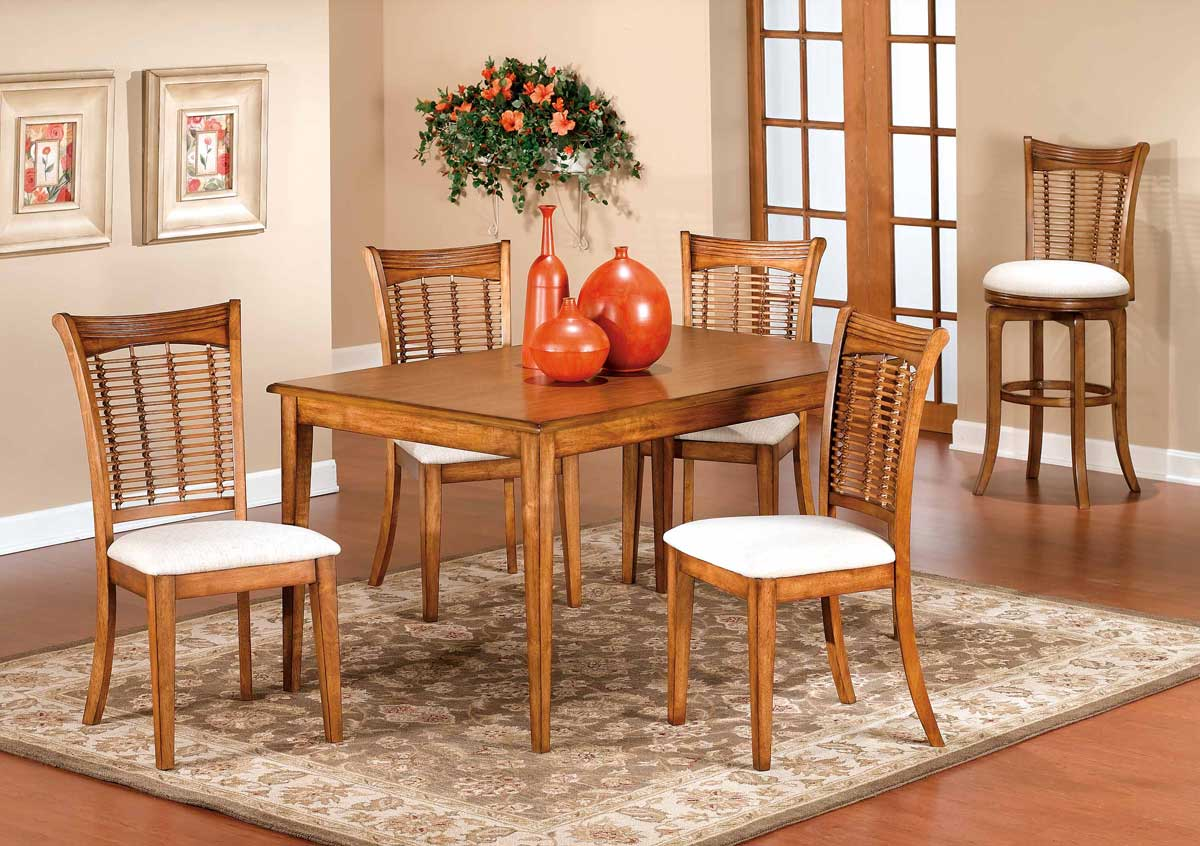Hillsdale Glenmary - Bayberry Rectangle Table - Oak