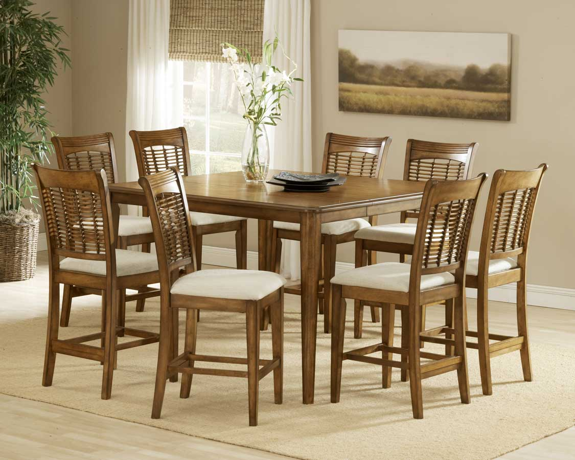 Hillsdale Bayberry Counter Height Dining Collection - Oak