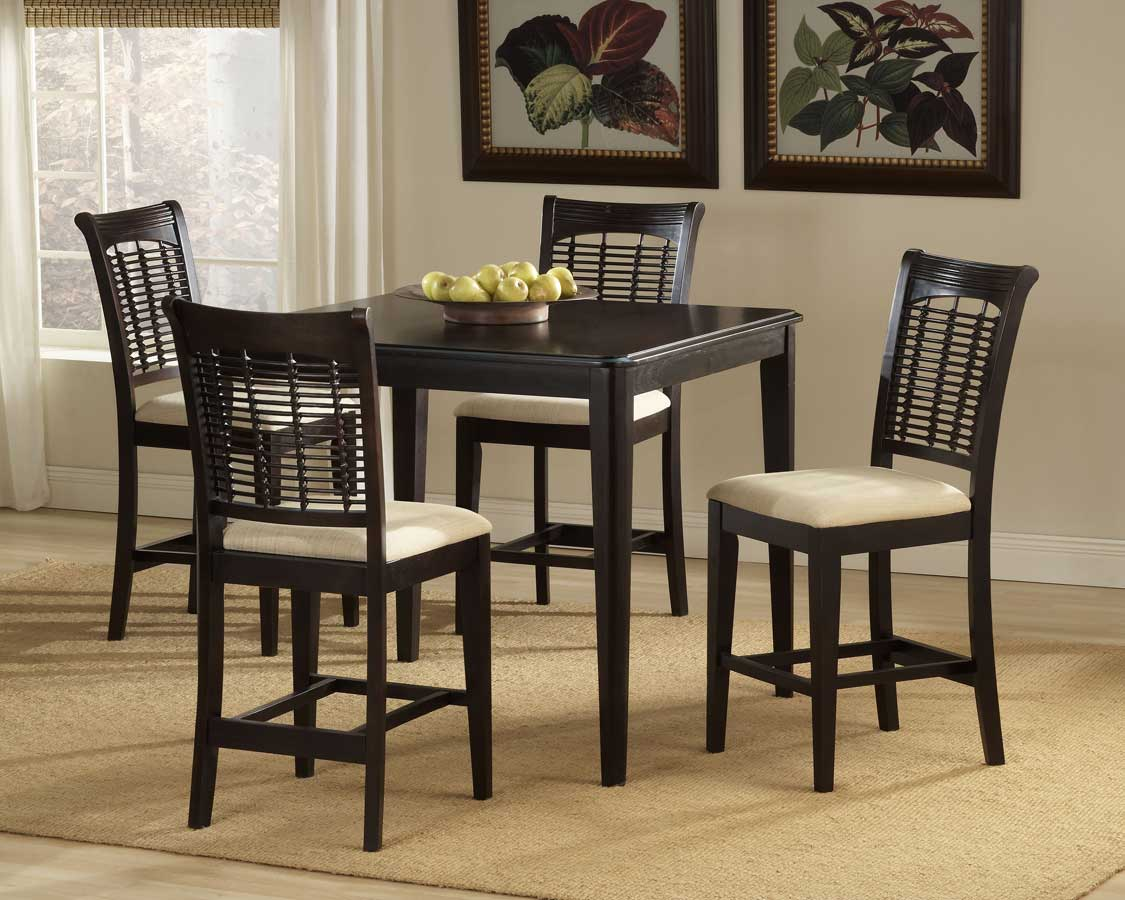 Hillsdale Bayberry Counter Height Dining Collection - Dark Cherry