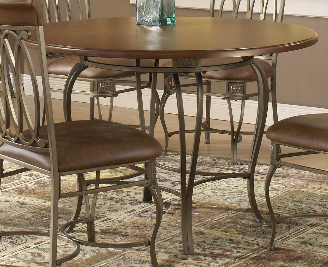 Hillsdale Montello Round Dining Table 45 Inch