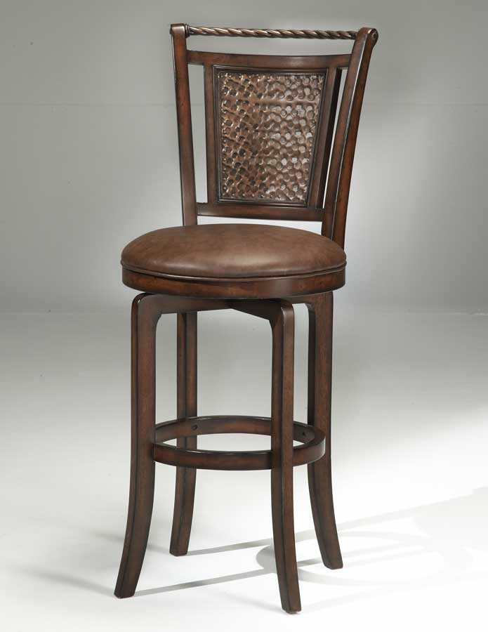 Awe Inspiring Hillsdale Norwood Copper Back Swivel Bar Stool Caraccident5 Cool Chair Designs And Ideas Caraccident5Info