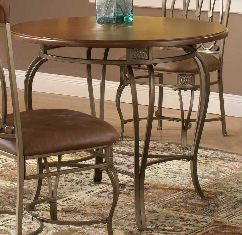 Hillsdale montello round dining table 36 inch 41541 810 for 36 inch round dining table