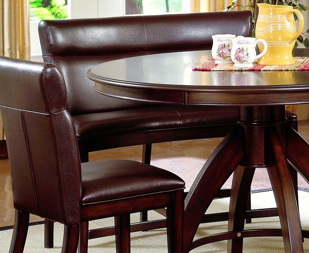 height of dining table bench corner hillsdale nottingham curved counter height dining bench 4077820